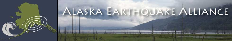 Alaska Earthquake Alliance banner